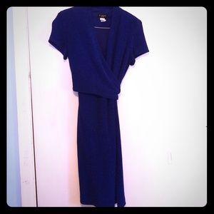 Vintage Virgo wrap dress